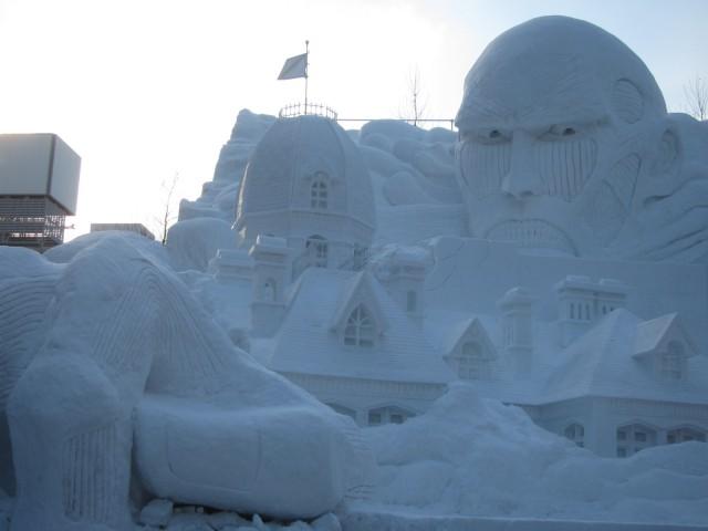 IMG 0022 640x480 - 初日から行ってきました、大雪像からご紹介【札幌雪祭り2016Part01】