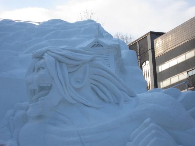 IMG 0023 640x480 - 初日から行ってきました、大雪像からご紹介【札幌雪祭り2016Part01】