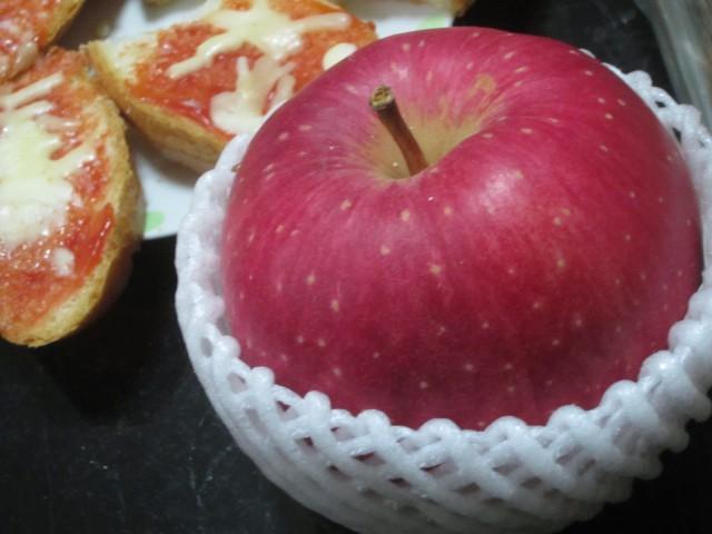 IMG 0090 640x480 - 世界一ってゆー品種のリンゴを食べてみた