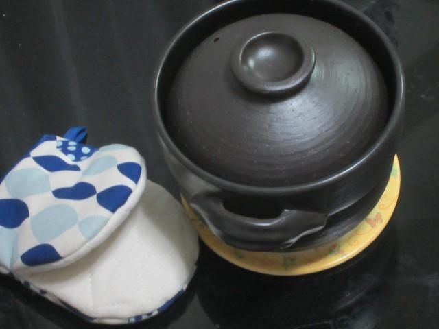 IMG 0095 640x480 - 炊飯用の土鍋(土釜)を購入してみた