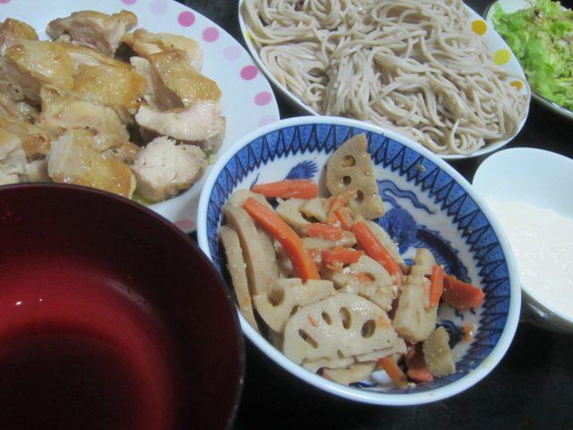IMG 0014 640x480 - 北海道産100%鶏鍋 / この時期になると道産野菜が手に入りづらいです
