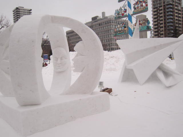 IMG 0020 - さっぽろ雪祭り2017年Part3 ~第44回国際雪像コンクール~