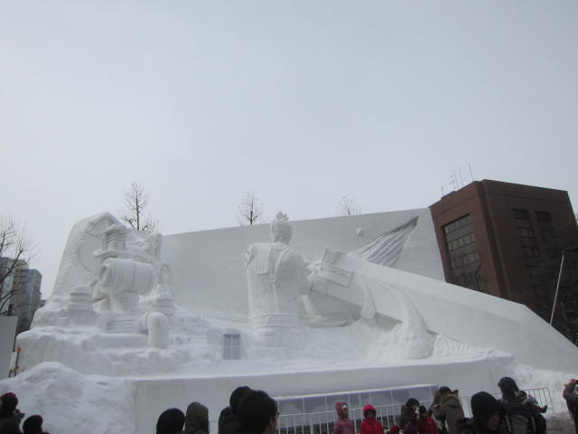 IMG 0037 1 - さっぽろ雪祭り2017年Part1 ~大雪像関係~