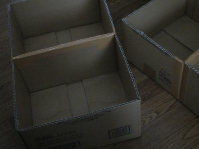 IMG 0045 - ダンボール本箱の作り方 / よーやく本類をダンボールから救出