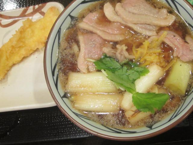 IMG 0050 - 丸亀製麺の鴨ねぎうどん / 釜玉うどんのベビースターラーメン