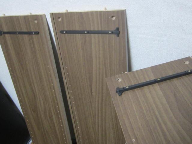 IMG 0012 - 引き出し付き木製ラックのビブリオ(448冊収納)とゆー本棚を購入して設置