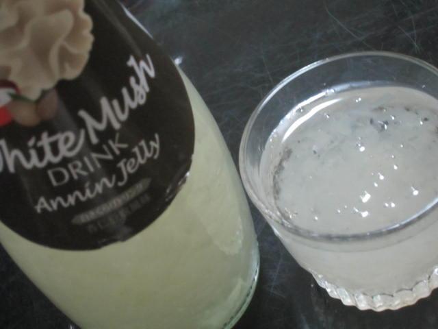 IMG 0006 - 白キクラゲのホワイトマッシュドリンク(杏仁豆腐風味)を飲んでみた