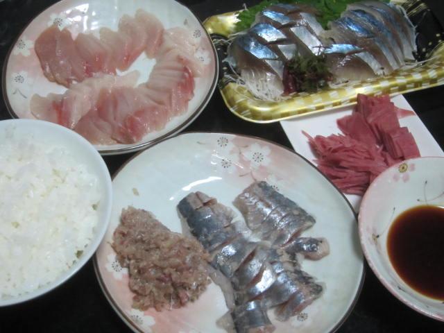 IMG 0019 - 最近は刺身用じゃない魚の切り身を刺身で食べることが多いです