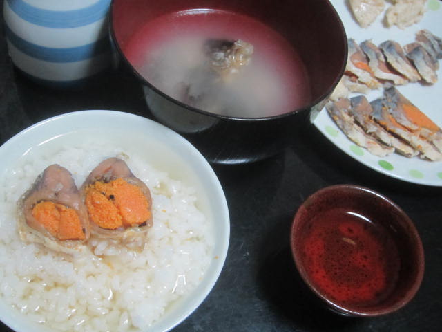 IMG 0045 - 阪元屋の鮒寿司(琵琶湖)をお茶漬け風にして食べてみた