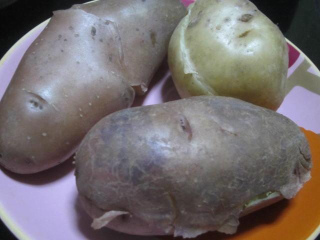 IMG 0007 - デストロイヤーとレッドムーンとキタアカリの食べ比べ(全部ジャガイモです)