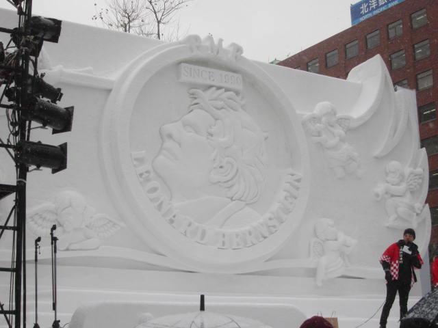 IMG 0012 - さっぽろ雪祭り2018年前編 / 雪像紹介とONちゃん焼きとか