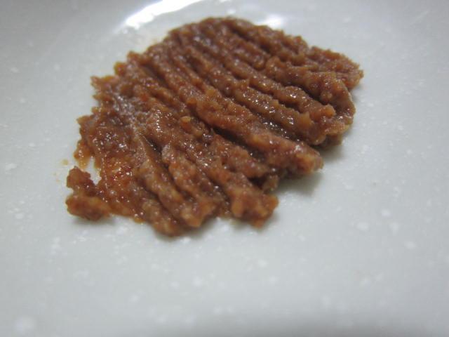 IMG 0024 - 河豚の卵巣の糠漬けを食べてみたら魚卵入り味噌ってイメージでした