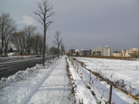 09fabe16 s - 北海道の冬の生活04 ~初めての本格的な雪~