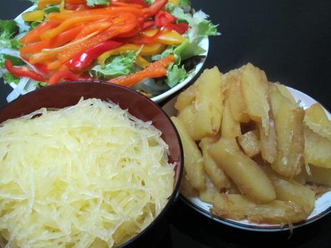 0ac8439f s - 八紘学園 ~学園産野菜 / そうめんカボチャ(金糸瓜)~