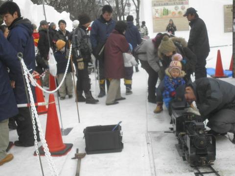 0fc3c7b8 s - 2012年 札幌雪祭り初日