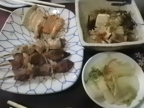 1a8824cf s - 札幌すすきの「やきとり錦」で飲み食い
