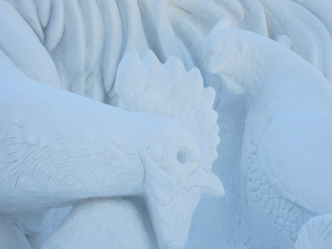 1e8a70b3 s - 2013年 さっぽろ雪祭りPart1 ~初日の天気気温、他大雪像紹介~