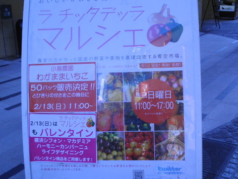 22f419bd s - 川崎 チッタ マルシエ 青空市場 イベント