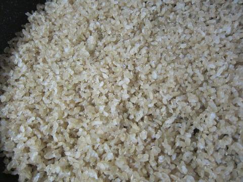 3bda8a15 s - 糒の作り方中編 まずは炊いた玄米を干してみます