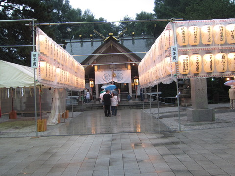 44721abc s - 札幌イベント参加 ~2012白石神社祭 / 超大雨~