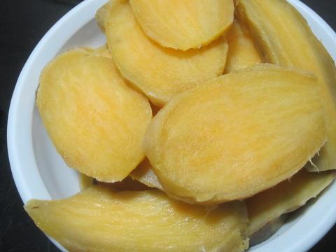 4f0c6397 s - 安納芋で干し芋作りますPart2 / 厚切りと細切りで干してみた