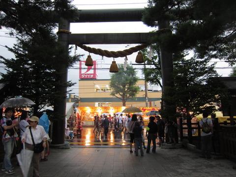 4f330a99 s - 札幌イベント参加 ~2012白石神社祭 / 超大雨~