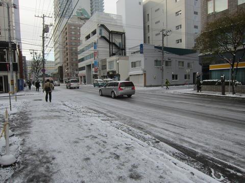 5b0679da s - 2013北海道(札幌)の初雪