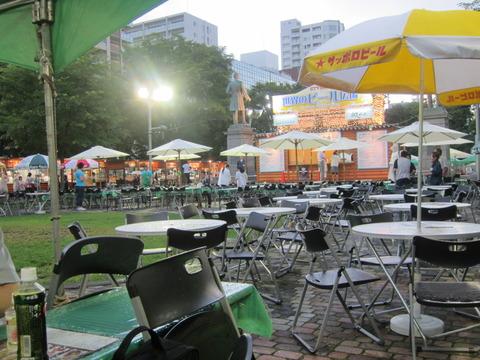 5dd5db22 s - 札幌大通ビヤガーデン2013 Part4 / 世界のビール広場