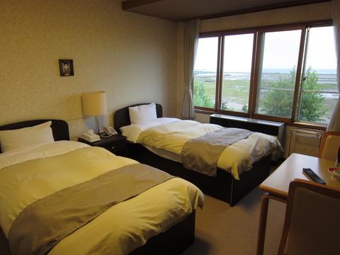 64e8be28 s - 北海道観光 ~能取湖 / 旅館かがり火~