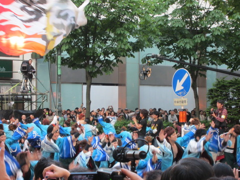 6815e092 s - 札幌大通公園 よさこいソーラン祭り2013