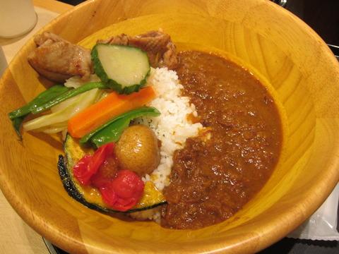 7ff6ccef s - 阿寒の豚丼(ロース) / ブルックスカレー食堂