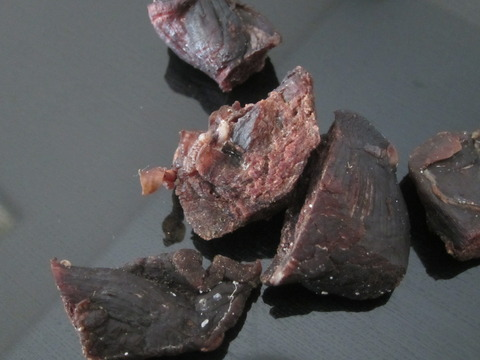 80521f6f s - 珍肉特集05ヤギ肉テンダーロイン(ヒレ肉) / らくだバーガー