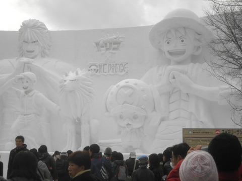 8291e15d s - 2012年 札幌雪祭り初日