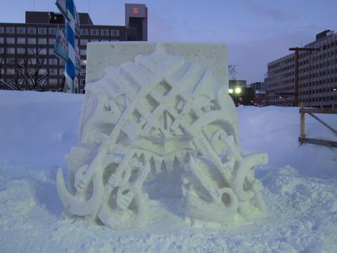 98c7c292 s - 2013年 さっぽろ雪祭りPart4 ~ゆるキャラ着ぐるみ / ライトアップ~