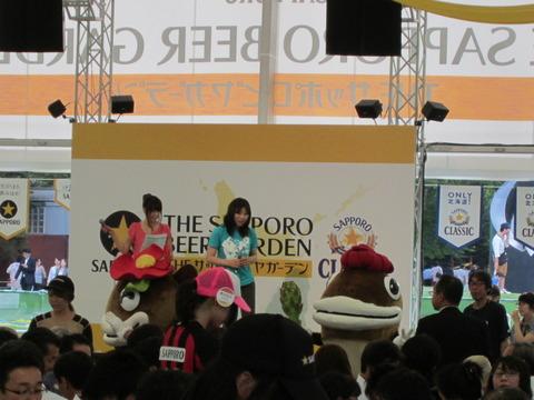 9e74c4b0 s - さっぽろ大通ビアガーデン / 豊平川花火大会