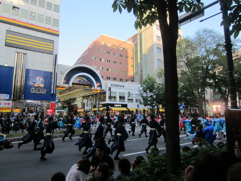 b43dede9 s - 札幌大通公園 よさこいソーラン祭り2013