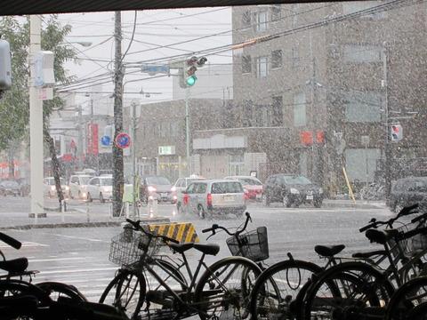 b746d983 s - 札幌市内で初雪です(実際の初雪はもっと前だけどね)