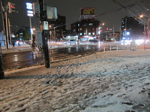 cbbe76c3 s - 札幌市内で初雪です(実際の初雪はもっと前だけどね)