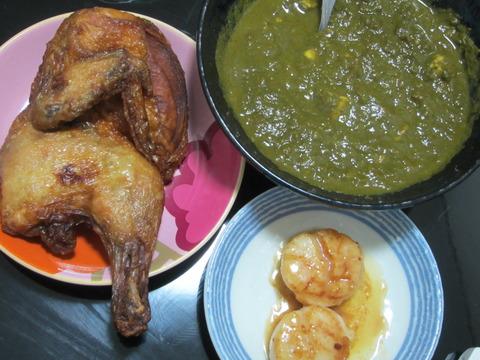 d0abd2d6 s - インドのレトルトカレーの緑の方