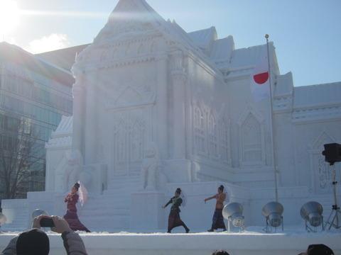 d95660d6 s - 2013年 さっぽろ雪祭りPart1 ~初日の天気気温、他大雪像紹介~