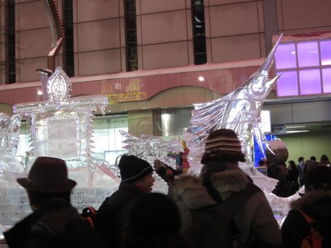 e64a00a1 s - 2013年 さっぽろ雪祭りPart4 ~ゆるキャラ着ぐるみ / ライトアップ~