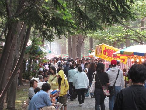f0d14120 s - 北海道神宮例祭 ~円山公園編~