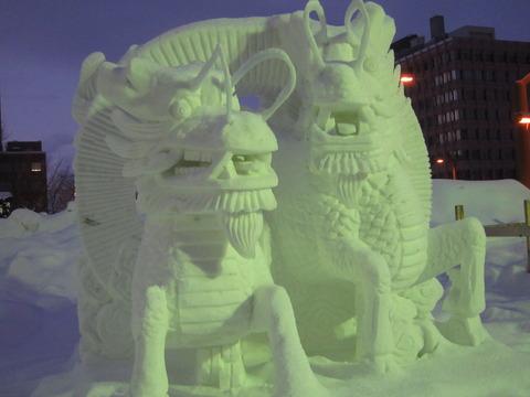 fda8d0e0 s - 2014年 さっぽろ雪祭り後編 / 雪祭りも規模縮小?